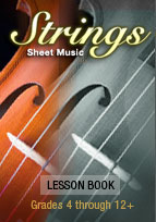 Strings Lesson Book from Strings Sheet Music